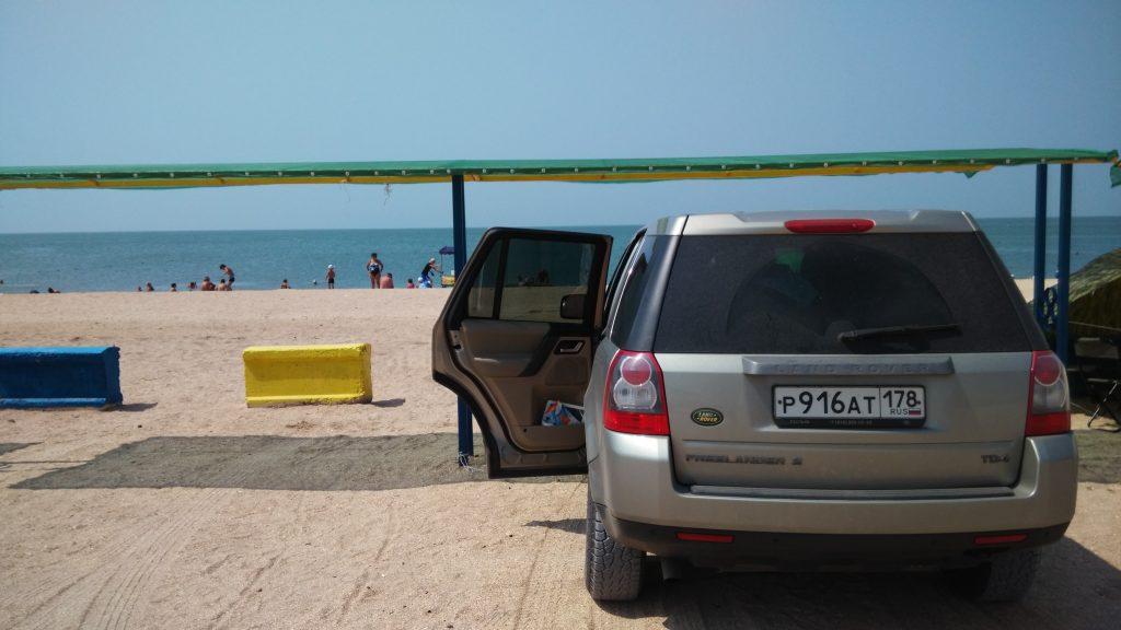 Дожанка пляж
