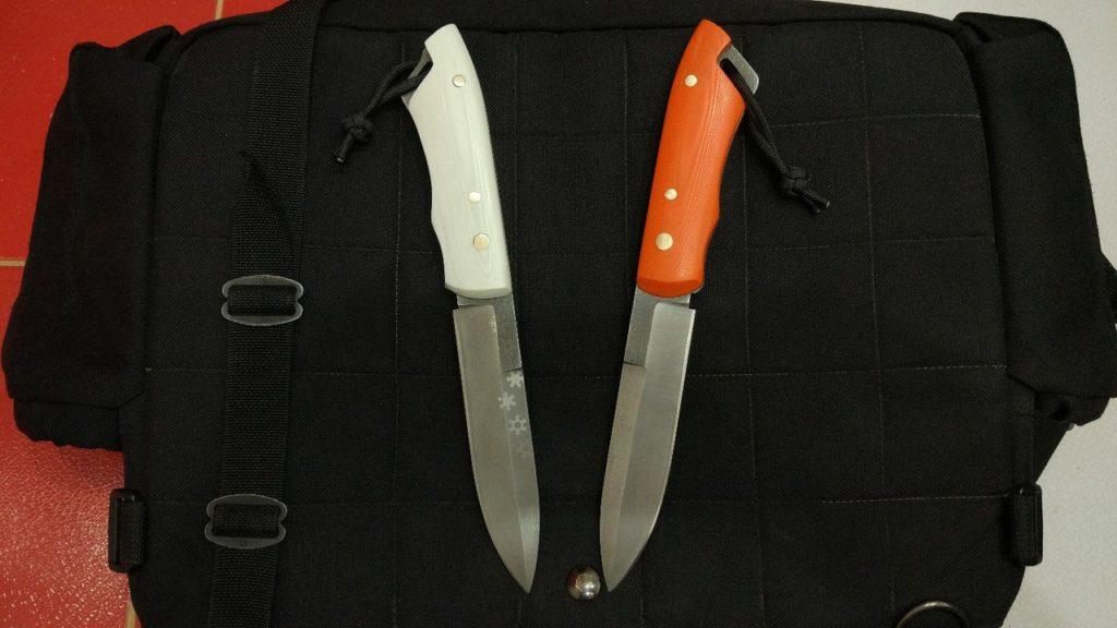 """Предсерийные образцы. Нож """"Оператор"""""""