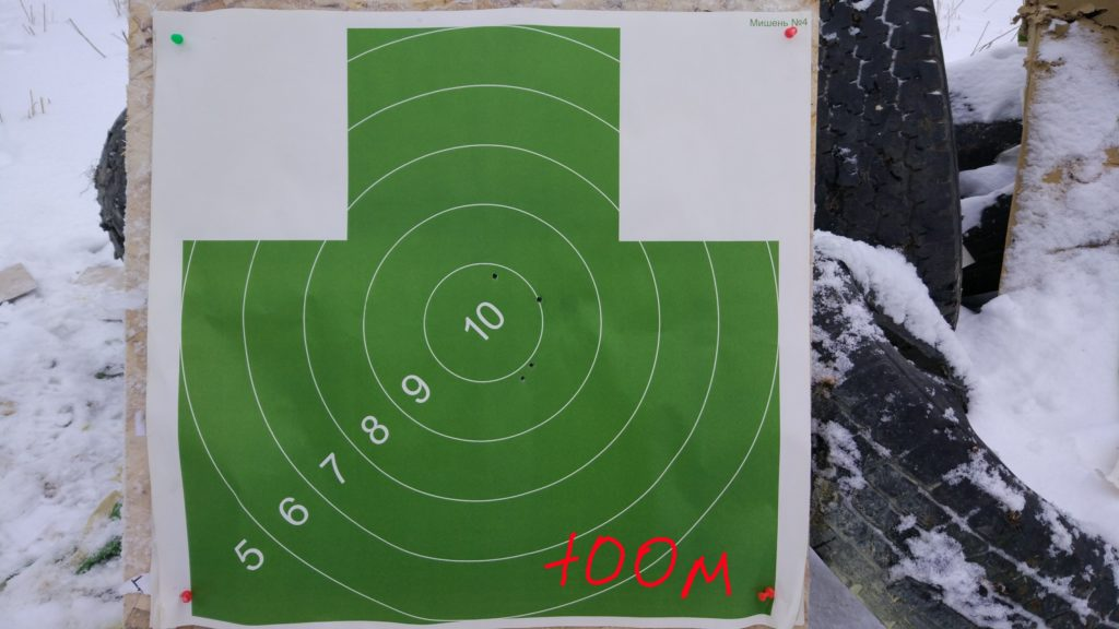 Дистанция 100 метров