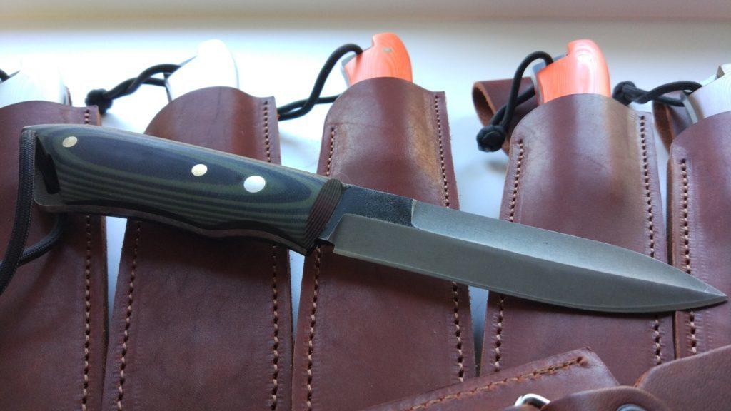Нож Operator. Этот нож уехал в США.