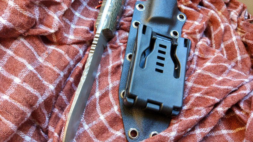 Не всегда сразу получается как планировал. Этот нож остался у одного петербургского инженера.
