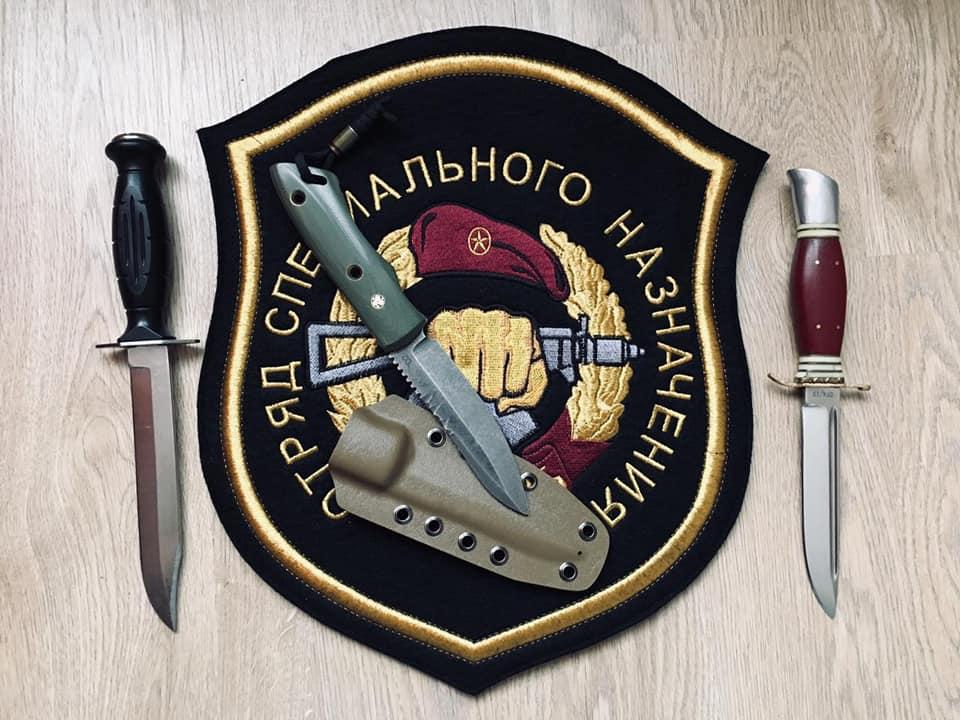 Все три ножа моей работы, у одного человека.